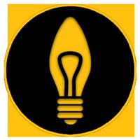 وکتور لامپ شمعی