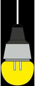 لامپ حبابی کوچک اسلایدر