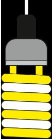 لامپ کم مصرف اسلایدر