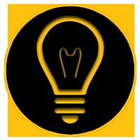 وکتور لامپ حبابی
