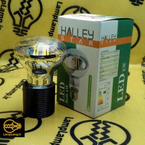 لامپ فیلامنتی 6 وات رفلکتور جیوه ای پایه e27 هالی استار