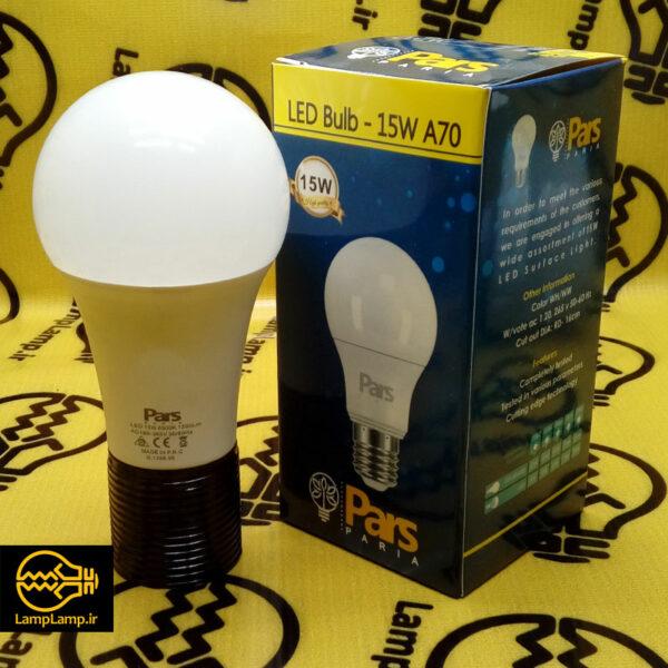 لامپ ال ای دی 15 وات حبابی پارس