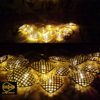 ریسه ال ای دی تزئیناتی مدل قلب 15 تایی