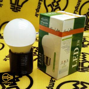 لامپ ال ای دی 5 وات حبابی مات E27 هالی استار