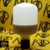 لامپ ال ای دی استوانه ای 40 وات e27 اسمایل