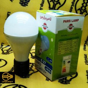 لامپ ال ای دی 20 وات حبابی سفید پارس شهاب
