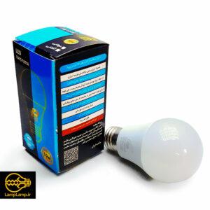 لامپ ال ای دی حبابی ۱۰ وات سفید آفتابی و مهتابی پارس پریا