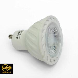 لامپ هالوژن ال ای دی سقفی توکار ۶ وات پایه gu10 دلتا