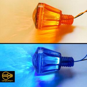 لامپ لاسوگاسی ال ای دی مدل شرابی در رنگ های مختلف