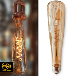 لامپ ادیسونی بزرگ ۶ وات پایه e27 طول ۲۰ سانتیمتر