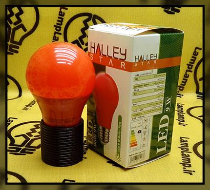 لامپ ال ای دی قرمز ۹ وات برند هالی استار