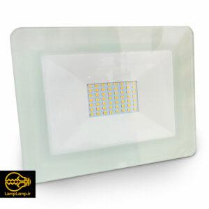 پروژکتور ال ای دی ۵۰ وات ip65 رنگ سفید دلتا