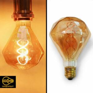 لامپ فیلامنتی دکوراتیو توان ۶ وات مدل الماس