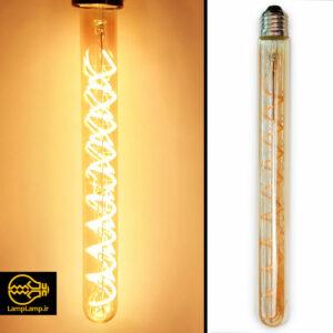 لامپ ادیسونی دکوراتیو ۶ وات مدل لانگ طول ۳۰ سانتیمتر