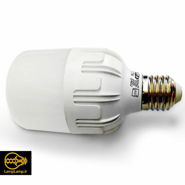 لامپ ال ای دی 17 وات استوانه ای مدل اطلس پایه e27 دلتا