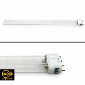 لامپ ضد عفونی کننده ماوراء بنفش ۵۵ وات پایه ۲G11