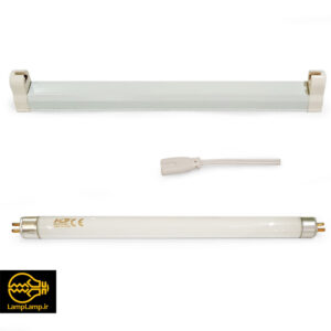 لامپ یو وی آ UV-A فلورسنت ۶ وات ۳۶۵ نانومتر