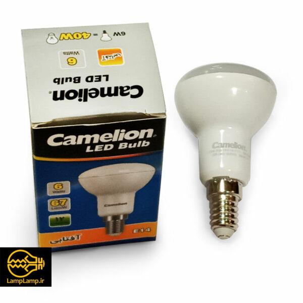 لامپ ال ای دی حبابی فلت 6 وات پایه e14 کملیون