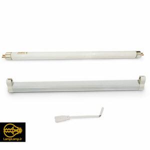 لامپ ماوراء بنفش uv-a توان ۸ وات پایه t5