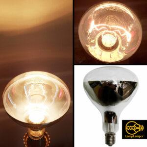 لامپ مادون قرمز رفلکتور دار ۲۵۰ وات ژاپنی