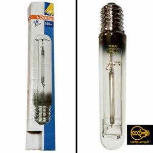 لامپ بخار سدیم پر فشار ۲۵۰ وات استوانه ای نور