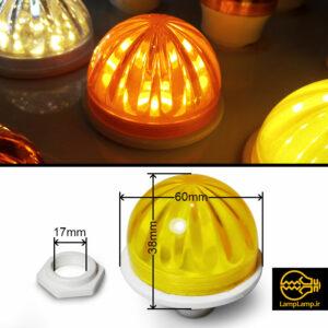 لامپ لاسوگاسی پایه تخت قطر ۶۰ میلیمتر