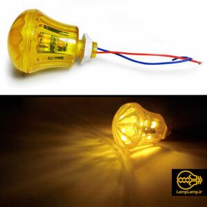 لامپ لاسوگاسی مدل گلابی کریستالی ضد آب پر نور