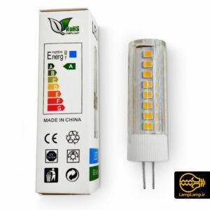 لامپ ال ای دی سوزنی پایه G4 توان ۷ وات ۲۲۰ ولت