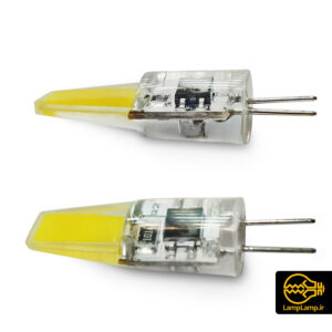 لامپ سوزنی ناخنی لوستری ۵ وات پایه G4