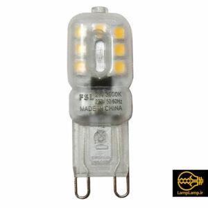 لامپ ال ای دی کوچک لوستری ۲ وات پایه G9