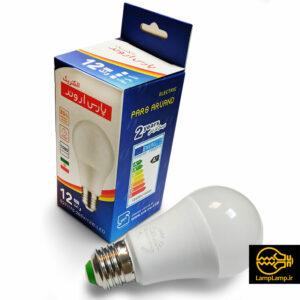 لامپ ال ای دی حبابی مات ۱۲ وات پارس اروند