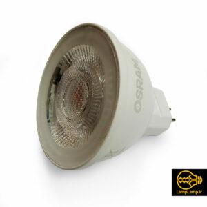 لامپ هالوژن ال ای دی ۷.۵ وات پایه G5.3 اسرام