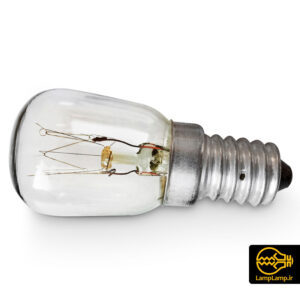 لامپ یخچالی ۱۵ وات رشته ای آفتابی پایه E14