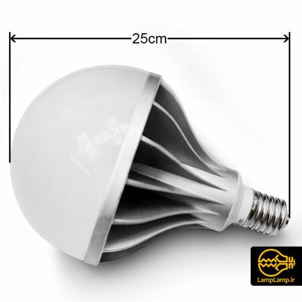 لامپ ال ای دی 70 وات پایه E40 حباب بزرگ هالی استار