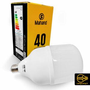 لامپ استوانه ای ۴۰ وات اس ام دی E40 مهند