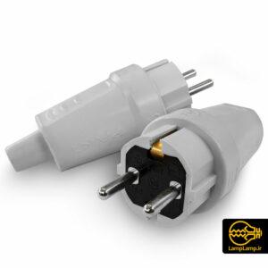 دوشاخه برق صنعتی ۱۶ آمپر نری پارت الکتریک