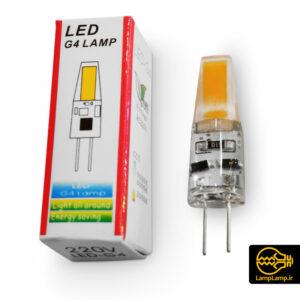 لامپ ال ای دی سوزنی پایه G4 ژله ای ۲ وات ۲۲۰ ولت