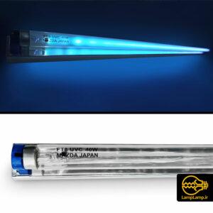 لامپ یو وی سی ۴۰ وات طول ۱۲۰ سانتی مزدا