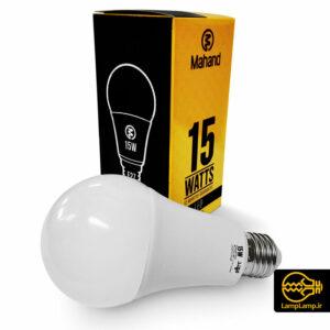 لامپ ال ای دی ۱۵ وات سفید آفتابی و مهتابی مهند