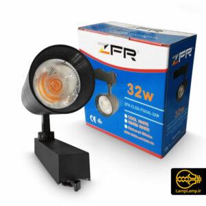 چراغ ریلی ال ای دی COB توان ۳۲ وات برند ZFR