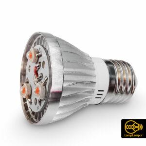 لامپ فول اسپگتروم ۳ وات پایه E27 بدنه فلزی