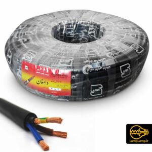 کابل برق چهار رشته ای سایز ۴ در ۴ افشان سهند دامغان