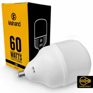 لامپ ال ای دی استوانه ای ۶۰ وات ۵۹۰۰ لومن مهند