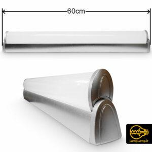 چراغ مهتابی ال ای دی ۴۰ وات طول ۶۰ سانتیمتر