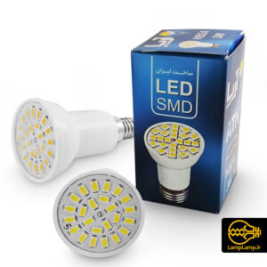 لامپ هالوژن اس ام دی ۳ وات پایه E14 آریا