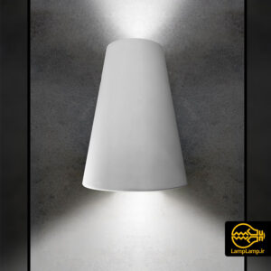 چراغ دکوراتیو نما مدل دیواری دو طرفه ۶ وات