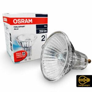 لامپ هالوژن کاسه ای ۲۲۰ ولت ۵۰ وات اسرام