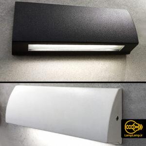چراغ دیواری نورپردازی نمای بیرونی ساختمان