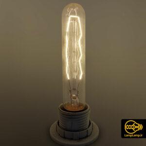 لامپ تنگستنی ادیسونی استوانه ای تزئینی