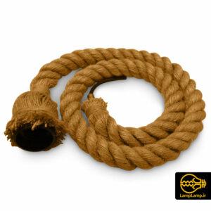 سرپیچ طنابی کنفی پایه E27 طول یک متری